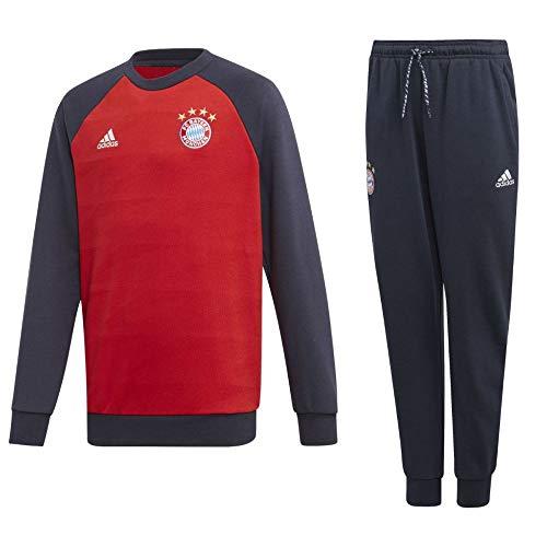 adidas FCB FC Bayern München Sweatanzug Trainingsanzug Sweatshirt Hose Kinder Gr 176