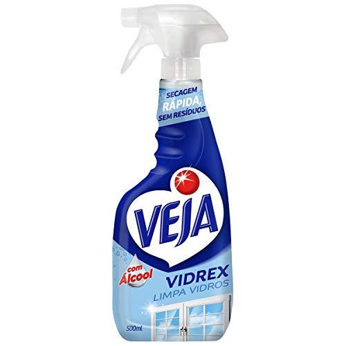 Limpa Vidros Spray Vidrex Tradicional 500 ml, Veja
