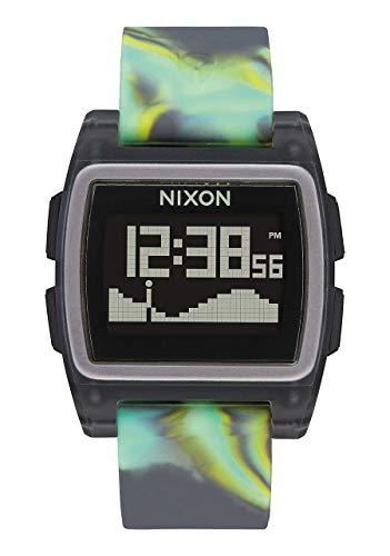 Nixon Reloj Hombre de Digital con Correa en Silicona A1104-3177-00