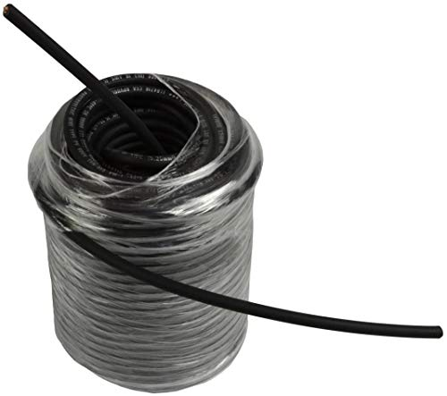 TEMCo 10 AWG/Gauge Solar Cable - Made in The USA 100 Feet Black (Variety of Lengths Available)