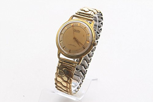 Unbekannt 50s Armbanduhr Herrenuhr ZentRa Hermetica Original 1950er Vergoldet Dress Watch