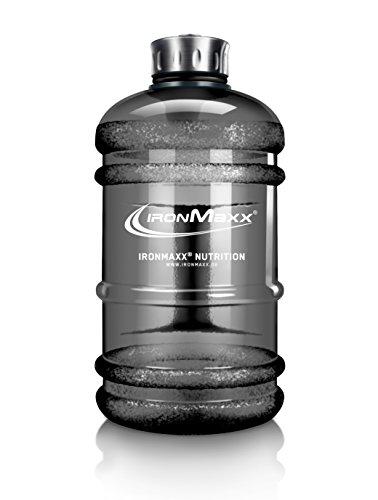 IronMaxx Water Gallon - Gourde fitness anti-fuite en plastique - Sans BPA