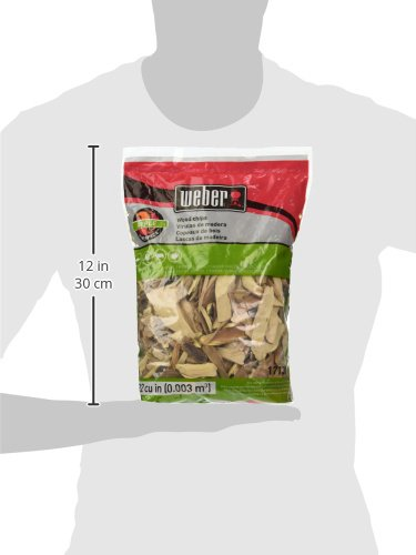 Weber Wood Cubic Meter Stephen Products 17138 Apple Chips, 192 cu. in. (0.003 cubi, m
