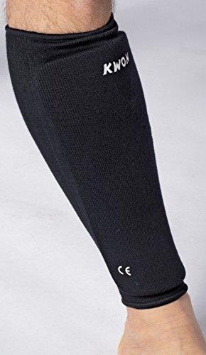 Kwon Schienbeinschützer Stoff CE schwarz Senior