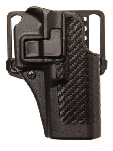 BLACKHAWK Serpa CQC Carbon Fiber Appliqué Finish Concealment Holster, Size 07, Right Hand, (Springfield XD Compact or Service Models)
