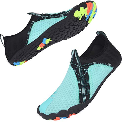 Centipede Demon Water Shoes for Mens Womens Quick Dry Barefoot Beach Swim Diving Aqua Sneakers 10 Women/8 Men
