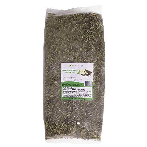 Tea Zone 8.5 oz Premium Jasmine Green Tea Bag