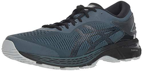 ASICS Men's Gel-Kayano 25 Running Shoes, 10.5M, IRONCLAD/Black
