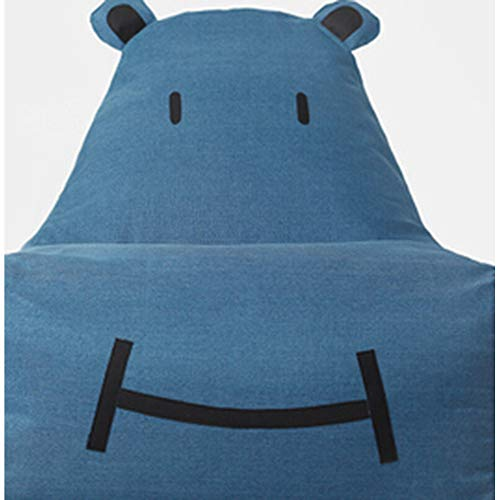 Bank GJDBBLY Enkele schattige baby kinder cartoon kunst luie bank. Tatami stoel. Zitzak klein Zoals afgebeeld-3 Lavendel