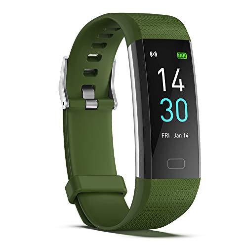 sZeao Smartwatch Hombres Reloj Deportivo Mujeres Reloj Inteligente Rastreadores De Ejercicios A Prueba De Agua IP68 Niño Rastreadores De Actividad Compatible con Android iOS,A