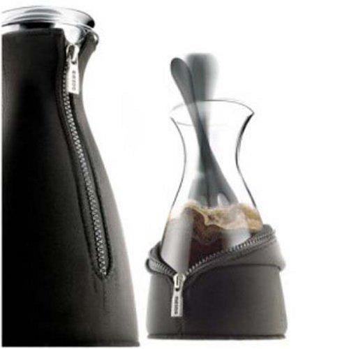 Eva Solo Cafe Solo Coffee Maker with Neoprene Cover, 1-Liter, Black