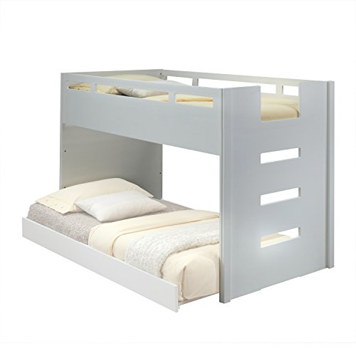 ACME Furniture Deltana Loft Bed, Twin, White