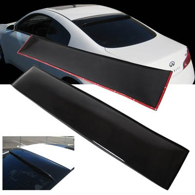 03-06 Infiniti G35 2DR Coupe ABS Rear Roof Window Visor Spoiler