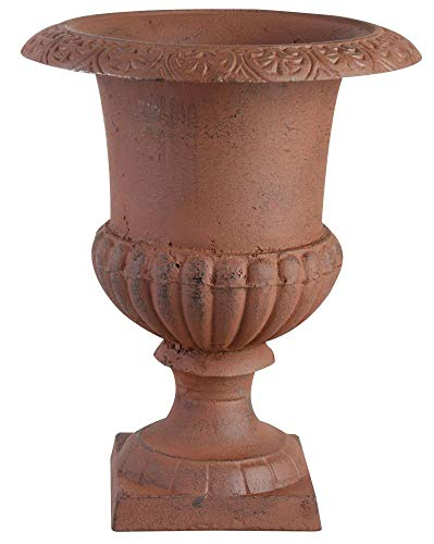 Esschert diseño, Francés Altura jarrón de 15 cm, 11 x 11