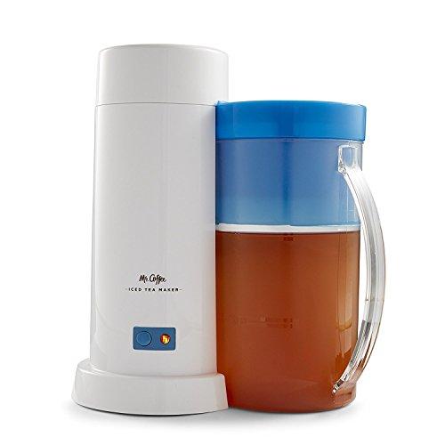 TM1 2-Quart Iced Tea Maker for Loose or Bagged Tea, Blue
