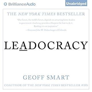 Leadocracy audiobook cover art