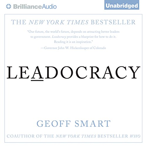 Leadocracy audiobook cover art