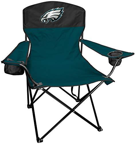 Rawlings NFL PHIEAG Lineman Chair Klappstuhl, Polyester, Grün, Weiß, Einheitsgröße