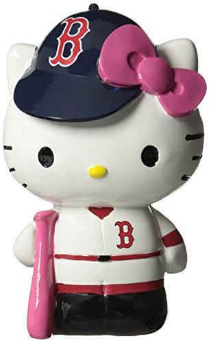 FOCO MLB Boston Red Sox Hello Kitty Resin Bank
