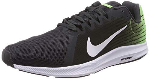 Nike Downshifter 8, Zapatillas de Running para Hombre, Gris (Anthracite/White/Lime Blast/Black/White 013), 44.5 EU