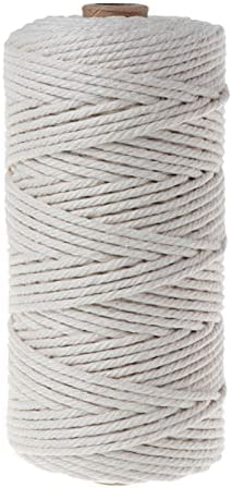Crafts Cord 100 200 400m Natural Braided Rope Cotton Free shipping on posting reviews Popular standard Craft