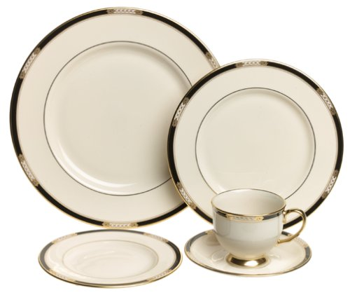 Lenox Hancock Fine China 20-Piece Dinnerware Set, Service for 4