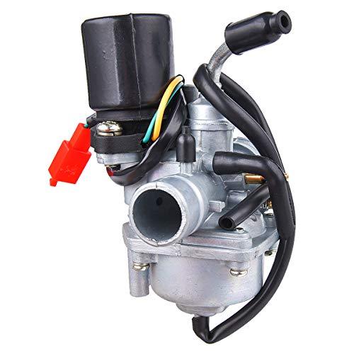 Carburador Carb compatible con Tng Adly Jonway auténtico scooter 49 cc 50 cc 2 tiempos