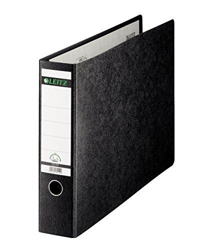 Leitz 10730000 Qualitäts-Ordner (für Sonderformate, 2-fach-Lochung) schwarz