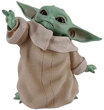Lifattitude Figurine de Bébé Yoda - Star Wars - 8 cm