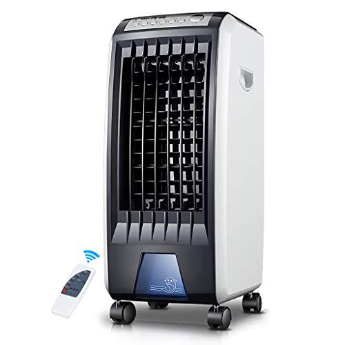 Remoto refrigerador de aire portátil, un humidificador 3-purificador, acondicionador de aire y un ventilador de refrigeración, la velocidad del ventilador es de 3 veces, temporizador de 7,5 horas, la