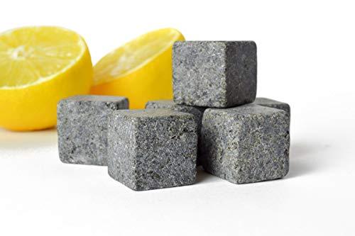 Sendez 36er Set Whisky Steine Eiswürfel Kühlsteine Steine Ice Cube Whiskysteine Stone Kühlwürfel