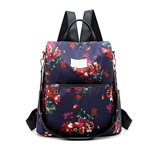 XYBB Mochila infantil Mochila antirrobo para mujer, bolso de hombro Oxford, mochila de viaje grande para mujer, mochila escolar ligera para adolescentes bosiju