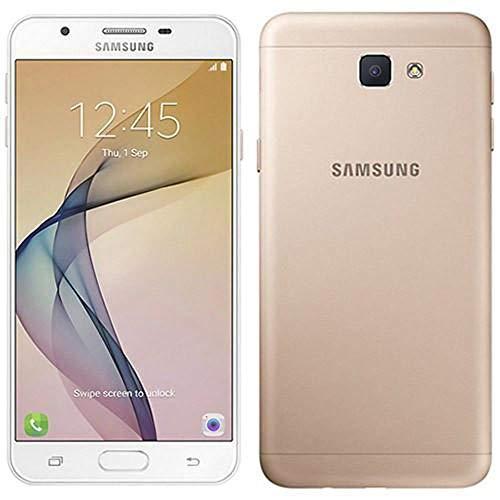"Samsung Galaxy J7 Prime (32GB) G610F/DS - 5.5"" Dual SIM Unlocked Phone with Finger Print Sensor (Gold) (Renewed)"