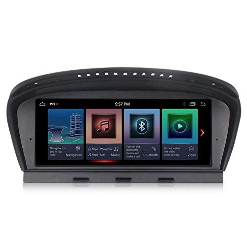 ANDROID 10 4GB RAM 64GB ROM Octa-Core GPS Bluetooth navigatore compatibile con BMW Serie 3 E90 2005-2008, BMW Serie 5 E60 E61 E63 E64 2005-2008 Sistema originale CCC