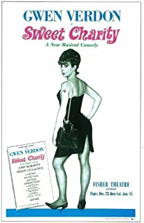 Sweet Charity Poster (Broadway) (14 x 22 Inches - 36cm x 56cm) (1966) -(Gwen Verdon)(John McMartin)(Helen Gallagher)(Thelma Oliver)(James Luisi)(Arnold Soboloff)