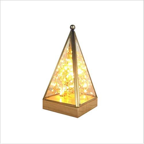 °nachtlicht Kreatives Feuer-Baum-silbernes Blumen-Nachttischlampen-dekoratives Lampengeburtstagsgeschenk
