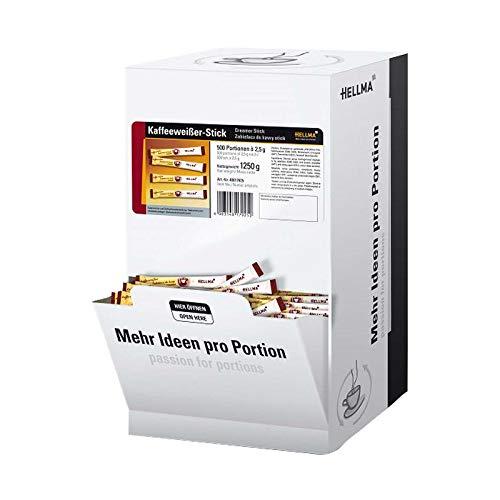 Hellma Kaffeeweisser Sticks, 500 x 2,5 g = 1,25 kg