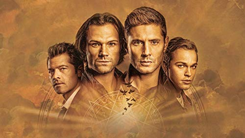 Slbtr 3D Wooden Puzzle Set 1000 Pieces - Supernatural Tv Show Poster G - Diy Model Kits For Adults Teens And Children - Ideal Christmas And New Year Gift - Gorgeous Home Décor