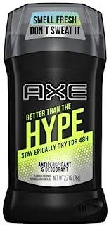 AXE Mens Antiperspirant Deodorant Better Than the Hype 2.7 Oz (Pack of 2)