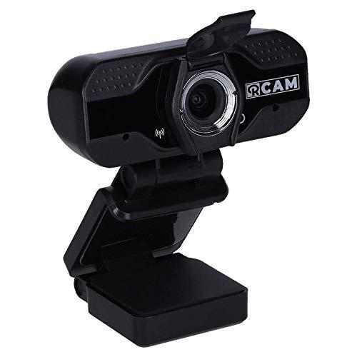 Rollei R-Cam 100, hochauflösende Web-Kamera mit Full-HD 1080p / 30fps mit Objektivabdeckung