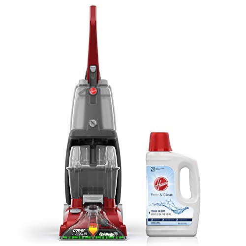 Fantastic Prices! Hoover Power Scrub Deluxe Carpet Cleaner Machine with Free & Clean Carpet Cleaning...