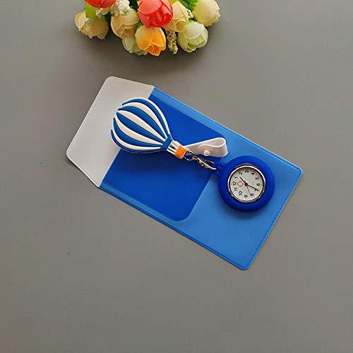 Cxypeng Montre d'infirmier Broche FOB des Infirmieres,Montre de Poche médicale à Quartz en Silicone antichute, Table pour infirmières à Envoyer Trousse à crayons-KD008,FOB Medical Watch