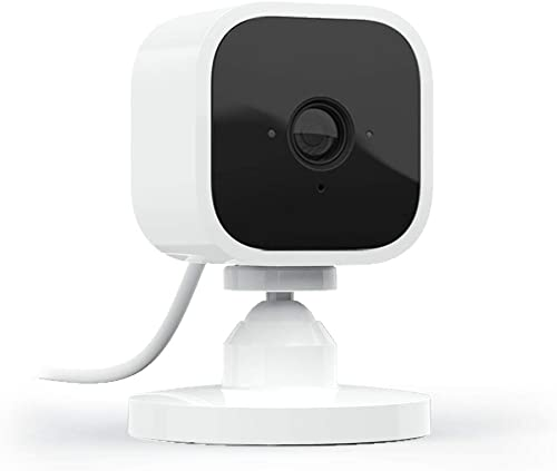 Blink Mini – Compact indoor plug-in smart security camera, 1080 HD video, motion detection, night vision, Works with ...