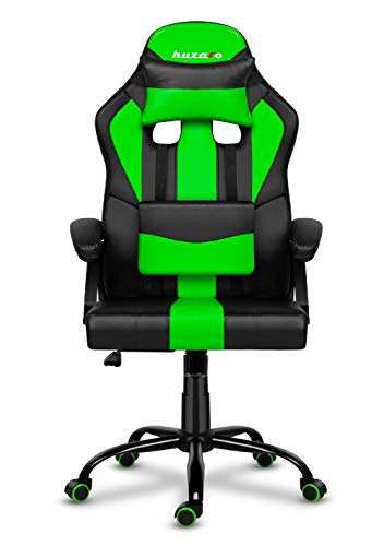 huzaro Force 3.0 Green Silla para Videojuegos, Verde, estándar