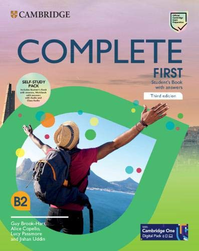 Complete First. Student's Bbook with answers-Workbook with answers. Per le Scuole superioi. Con CD-Audio