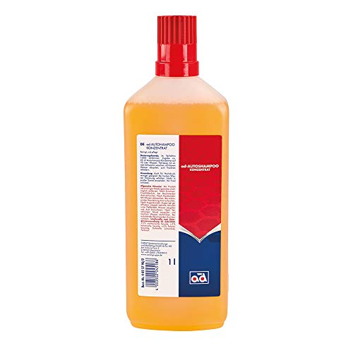AD Chemie Autoshampoo 1L Flasche Aprikosenduft Konzentrat Shampoo Auto Autoschampoo Bürste Autopflege Auto-Shampoo Element 40227902