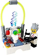 LEGO Mad Scientist with Laboratory Zapping a Chicken! - Custom Scientist with Science Lab Minifigure