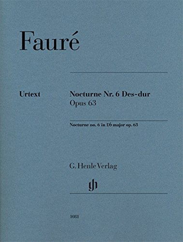 Nocturne Nr. 6 Des-dur op. 63 für Klavier 2ms