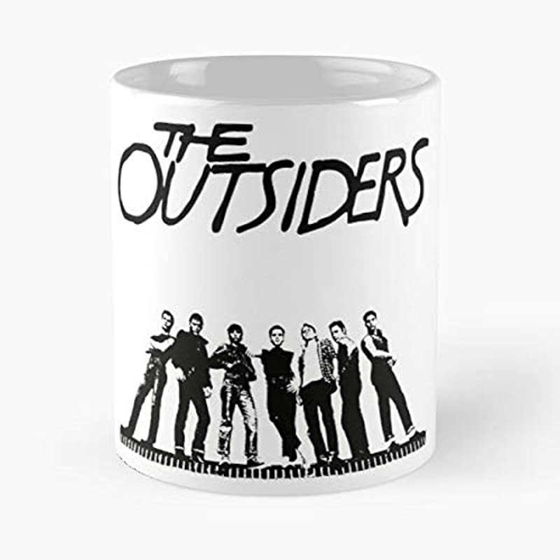The Outsiders Tulsa Greasers Ponyboy Curtis Coffee Mugs Unique Ceramic Novelty Cup For Holiday Days 11 Oz