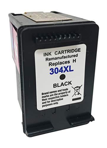 Druckerpatronen remanufactured ersetzt HP 304XL Black passend DeskJet 2620, 2622, 2630, 2632, 2633, 2634, 3720, 3730, 3732, 3733, 3735, 3750, Envy 5010, 5020, 5030, 5032